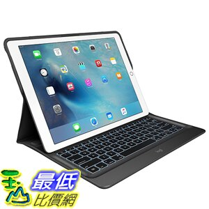[美國代購] Logitech 920-007824 鍵盤 保護殼 CREATE Backlit Keyboard Case with Smart Connector for iPad Pro