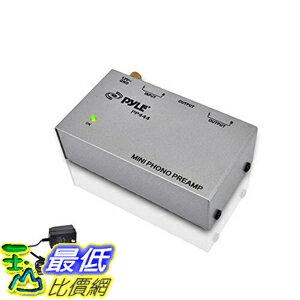 [美國直購] PylePro PYLE-PRO PP444 前置放大器 Ultra Compact Phono Turntable Preamp