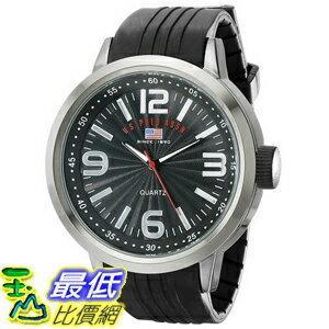 [美國直購] U.S. Polo US9054 手錶 Assn. Sport Men's Watch with Black Rubber Band