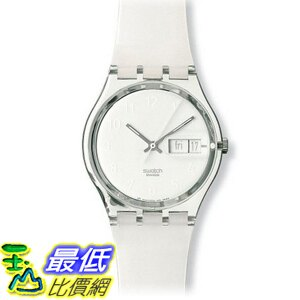 [美國直購] Swatch Women's GK733 White Plastic Watch 手錶