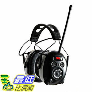 [美國直購] 3M 90542-3DC WorkTunes 防音耳罩 Hearing Protector with AM/FM Digital Radio