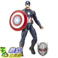 美國隊長周邊商品推薦[美國直購] Marvel B6875AS0 6-Inch Legends Series Captain America Figure 美國隊長