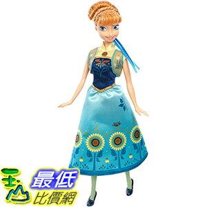 [美國直購] Disney DGF57 安娜 芭比娃娃 Frozen Fever Anna Doll 迪士尼 冰雪奇緣驚喜連連生日驚喜