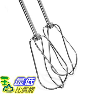 [美國直購] KitchenAid KHM2B 手持式攪拌器配件 Stainless Steel Turbo Beater Accessories