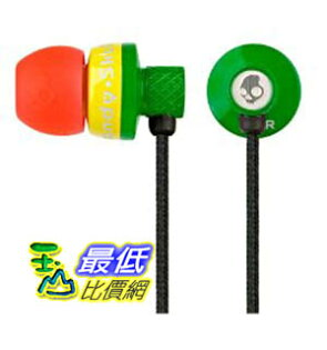 [美國代購 Shop USA] Skullcandy Titan In Ear Bud S2TTCZ-058 (Rasta) 耳機 $1899