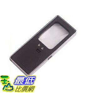 _% [玉山最低比價網] 全新 薄型 雙鏡面 LED照明 放大鏡 手電筒 驗鈔 旅行 照明 皆適用(16270_p19)  dd $91