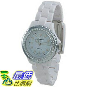 [美國直購 ShopUSA] Geneva 手錶 Platinum 6955.WHT (Women's)  _mr$894