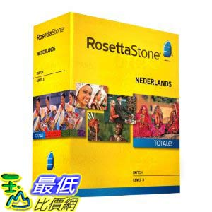 [美國直購ShopUSA] 羅塞塔石碑 Rosetta Stone V4 TOTALe: Dutch Level 3 $11602