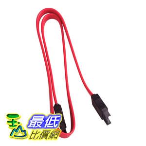 [玉山最低比價網]  延長線式 SATA線 公轉母 50CM 紅色線 延長線 電源線 線材(12534_E25) d $22