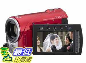 [美國直購ShopUSA] 攝像機 JVC GZ-MS100R Everio SD/SDHC Card Camcorder Red Refurb (全新品)_BC $ 10498