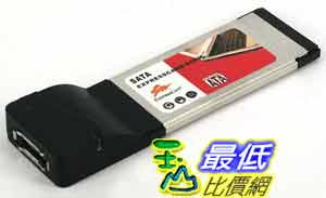 [玉山最低比價網] Serial Port Express Card 34 TO 1 channal eSATA 介面卡 (20917) $508