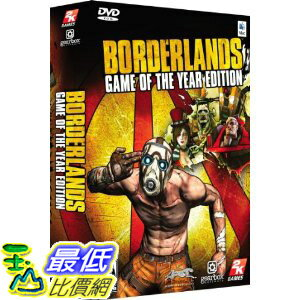 [美國直購 ShopUSA] 邊疆 Borderlands: Game Of The Year Edition $2099