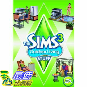 [A美國直購 ShopUSA] 模擬人生 The Sims 3 Outdoor Living Stuff - Expansion  $928