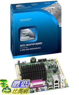[美國直購 ShopUSA] Intel 主板 D525MW Innovation Series Motherboard with Dual-Core Intel Atom D525 Processor and Intel NM10 Express Chipset BOXD525MW $7400