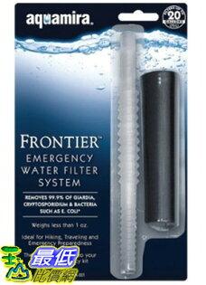 [美國直購ShopUSA] Aquamira 過濾器 Frontier Emergency Water Filter System _P00 $594