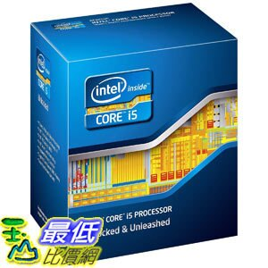 [美國直購 ShopUSA] Intel Core i5 處理器 Processor i5-2500K 3.3GHz 6MB LGA1155 CPU BOX80623I52500K $9060