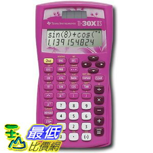 [美國直購 ShopUSA] Texas Instruments TI-30X IIS 粉紅色  2-Line Scientific Calculator, Pink 計算器 $948