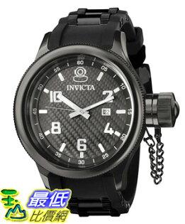 [美國直購 ShopUSA] Invicta 手錶 Men's 0555 Russian Diver Collection Black Rubber Watch