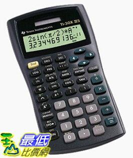 [美國直購 ShopUSA] 全新 德州儀器 Texas Instruments TI-30X IIS 2- line Multiview Calculator _T26