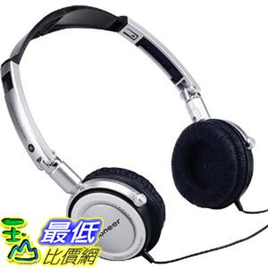 [美國直購 ShopUSA] Pioneer SE-MJ2 銀色耳機 Pioneer 折疊式立體聲頭戴型耳機 SE-MJ2 (僅剩黑色1個) $960