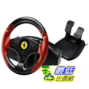 [美國代購]新款PS3/PC Thrustmaster VG Ferrari Racing Wheel - Red Legend Edition - PlayStation 3 賽車方向盤 $3749