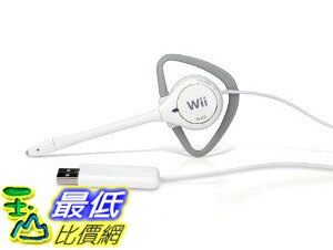 [美國直購 Shop USA] Official Nintendo DS HeadsetWii Headbanger Chat Headset - White 耳機 $99