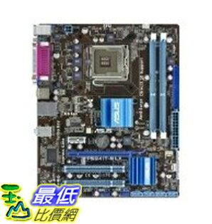 [二手良品] 主機板 ASUS Core 2 Quad/Intel G41/DDR3/A&V&GbE/Micro ATX Motherboard s P5G41T-M LX $2988