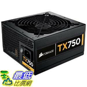 [美國直購 ShopUSA] Corsair Enthusiast Series 750-Watt 80 Plus Bronze Certified 電源供應器 Power Supply Compatible with Intel Core i3, i5, i7 and AMD platforms - CMPSU-750TXV2 $5000