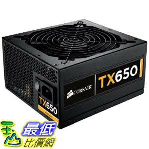 [美國直購 ShopUSA] Corsair Enthusiast Series 650-Watt 80 Plus Bronze Certified Power Supply Compatible with Intel Core i3, i5, i7 處理器 and AMD platforms - CMPSU-650TXV2 $5178