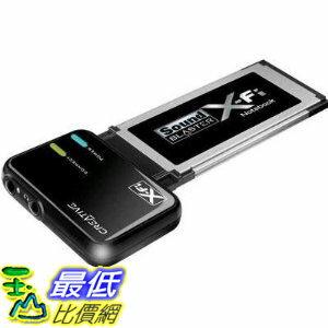 [美國直購 ShopUSA] Creative Labs 音頻 SB0950 ExpressCard Sound Blaster X-Fi Notebook Audio System $1499