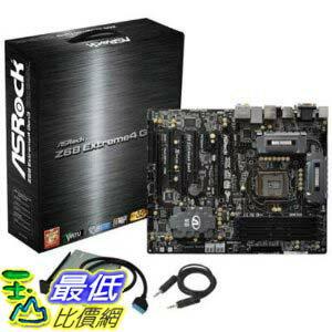 [美國直購 ShopUSA] ASRock 主機板 MB-Z68X4G3 LGA 1155 Intel Z68 HDMI SATA 6Gb/s USB 3.0 ATX Intel Motherboard by ASRock $7020