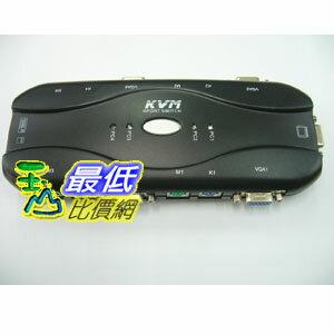 [玉山最低比價網] 新 電子式 1對4 切換器 4PORT KVM 螢幕 鍵盤 滑鼠 支援熱鍵切換(20495_J1126) dd $390