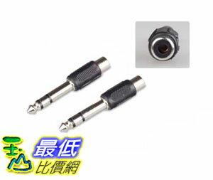 _a[玉山最低比價網] 麥克風 耳機 3.5 mm 轉 TO 6.5 mm 公轉母 立體聲 黑膠 轉接頭 適用喇叭/音響/電腦_(0267_RA222) $30