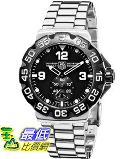 [美國直購 ShopUSA] TAG 手錶 Heuer Men's WAH1010.BA0854 Formula 1 Grande Date Black Dial Watch $31100