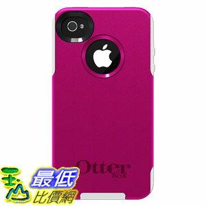 [美國直購 USAshop] OtterBox 手機皮套 77-23129 Commuter Series for iPhone 4/4S - 1 Pack - Carrying Case - Hot Pink/White