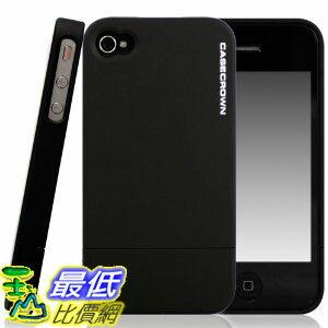 [美國直購 USAshop] CaseCrown 保護殼 Lux Glider Case for Apple iPhone 4 and 4S (AT&T, Sprint, & Verizon compatible) - Black Obsidian