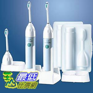 [美國直購 ShopUSA] Philips 牙刷 Sonicare Elite Limited Edition Toothbrush 2 Handles 3 Brush Heads and 2 Charger Packs $4700