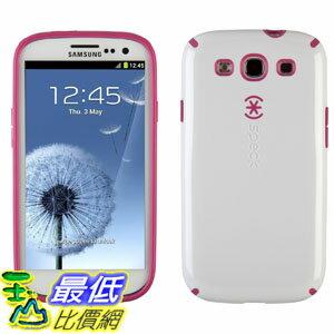 [美國直購] Speck 手機殼 SPK-A1427 Products SPK-A1427 Candyshell Glossy Cell Phone Case for Samsung Galaxy S III - 1 Pack - Retail Packaging - White/Raspberry