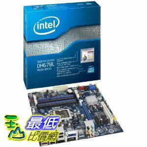 [美國直購 ShopUSA] Boxed Intel 台式機主板 Desktop Board Media Series Micro-ATX Form Factor for  Processors BOXDH67BLB3  $4179