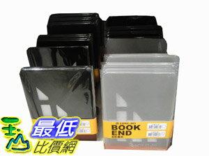 _%[玉山百貨網] COSCO BOOKS STOPPER 2SET/4PK LONG-HO 擋書架 兩組(四人)_C13769 $176