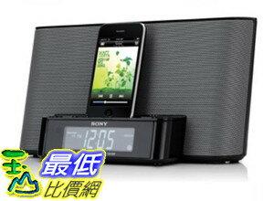 [美國直購] (整新機 屬於二手良品 保固三個月) Sony ICFCS10iP Speaker Dock with Alarm Clock and Radio for iPod/iPhone (Black) $2780