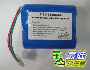 [玉山網] Mint 5200 5200C Braava 380t 抹地機 鎳氫 Ni-MH 充電電池 7.2V 3000mAh _d14