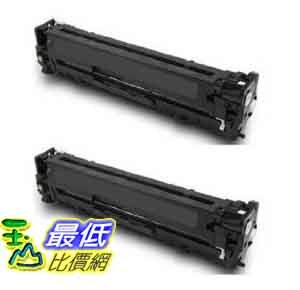 [美國直購] Black Cartridges: HP CB540A - 2pk Compatible Black Toner Cartridges For Use With HP Color $1890