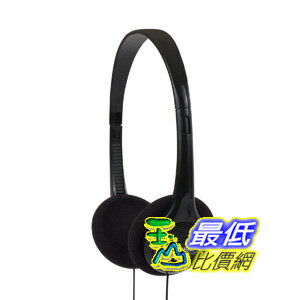 [美國直購] Koss 黑色耳機 KPH7 Lightweight Portable Headphone, Black $496