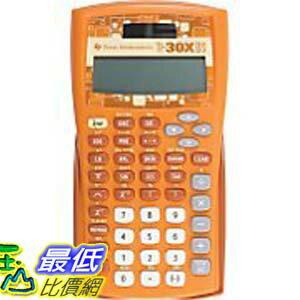 [美國直購 ShopUSA] Texas Instruments TI-30X IIS 橘色 2-Line Scientific Calculator - Orange $940