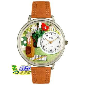 [美國直購 USAShop] Whimsical 手錶 Unisex Golf Bag in Silver Watch U0810002 _mr $2087