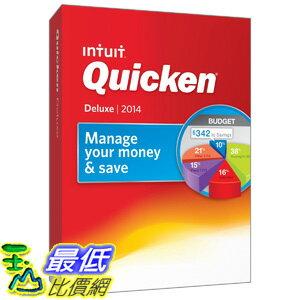[美國直購 ShopUSA] 企業軟件 Quicken Deluxe 2014 PC $2009