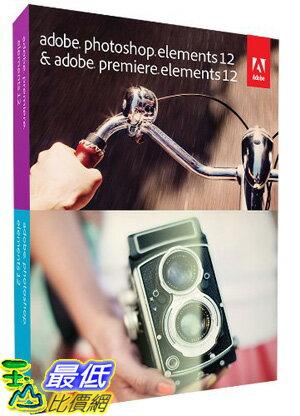 [美國直購 ShopUSA] 軟體 Adobe Photoshop Elements 12 & Premiere Elements 12 PC/Mac B00EOQZB4G $5685