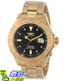 [美國直購 USAShop] Invicta 手錶 Men's 15286 Pro Diver 18k Yellow Gold Ion-Plated Stainless Steel and Diamond Accent Watch