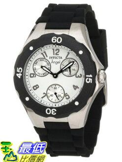 [美國直購 USAShop] Invicta 手錶 Women's 0733 Angel Collection Black Polyurethane Watch